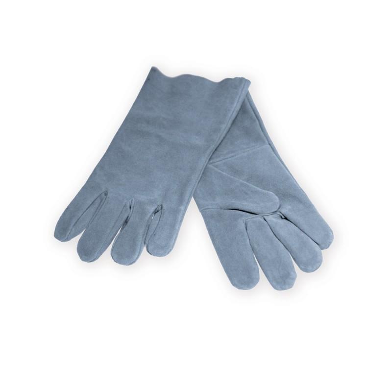 Ochranné rukavice kožené pre zváračov dĺžka 37cm