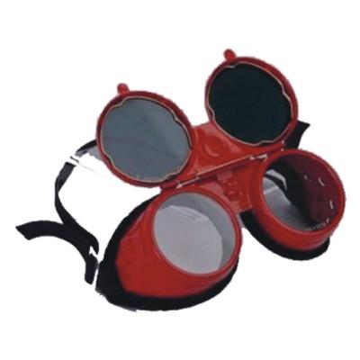 Náhradné sklá pre zvár. okuliare s filtrom DIN5, 4ks