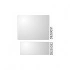 Náhradné sklo externé pre prilbe DES003 i DES004, 5 ks