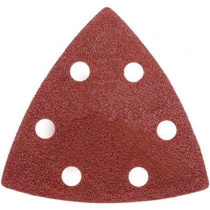 Trojuholníkové brúsne papiere komplet 3 ks, hr. 40, 80, 120