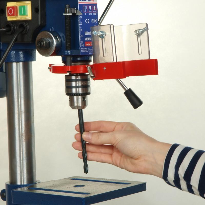 Vŕtačka stolová 350W, 13mm, 5 prevodov , vŕtacia dĺžka 50mm, výška stroja 600mm