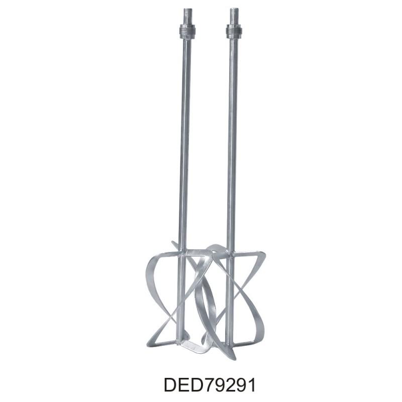 Elektrické miešadlo malty 1350W - Dvojité,2 prevodové stupne