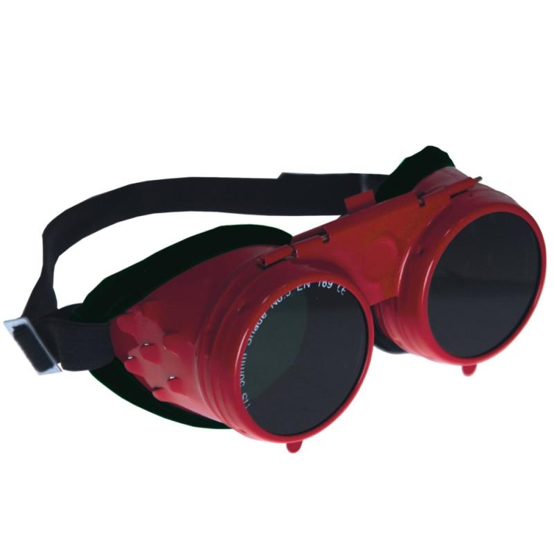 Zváračské okuliare kovove CE