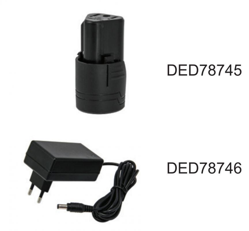 Akumulátorový skrutkovač  12V, 1,5Ah, 3-5h, 0-650rpm-1ks