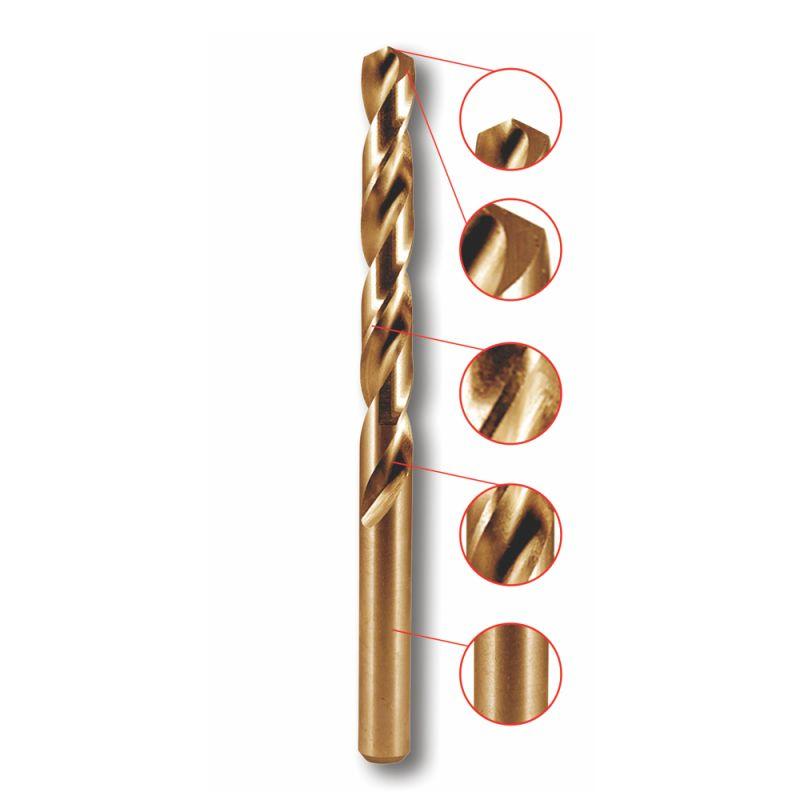 Kobaltový vrták do kovu 3,5x70 mm, HSS, DIN 338, 1 ks